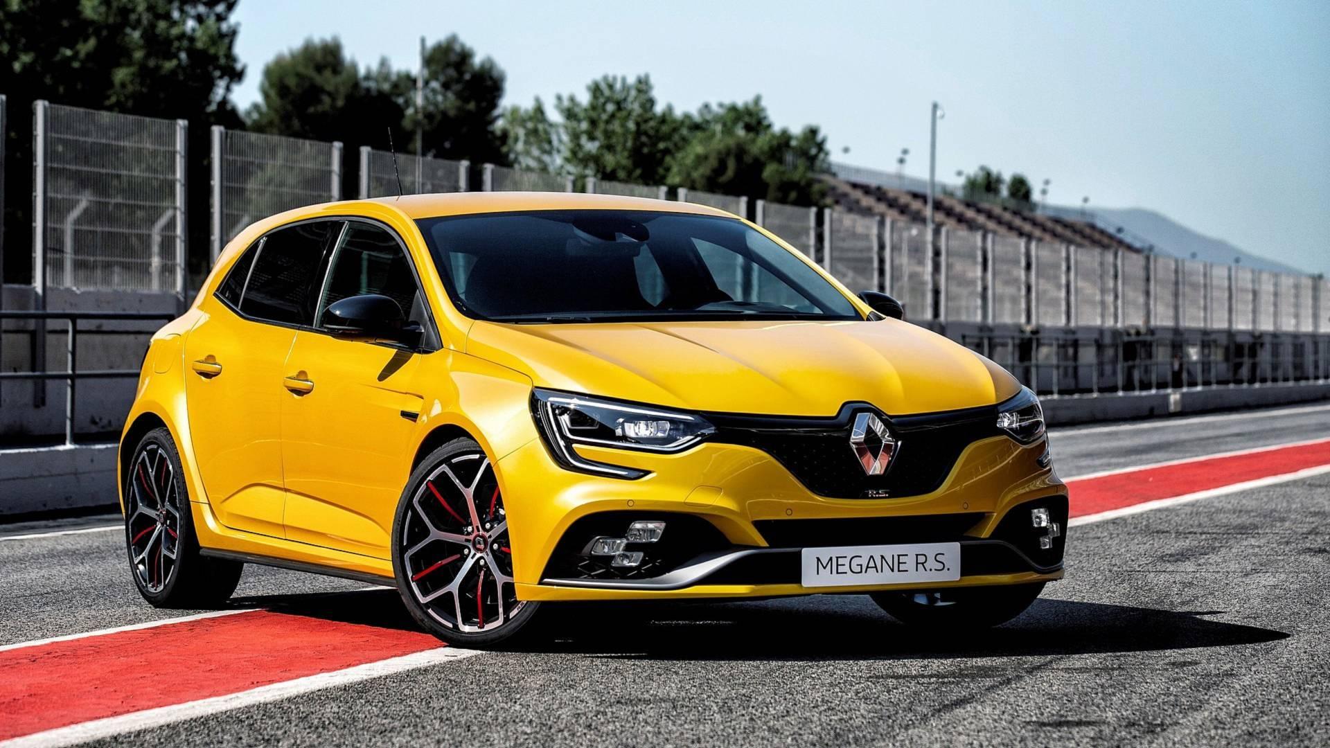 Renault Megane Rs Trophy E Revelado Com 300 Cv