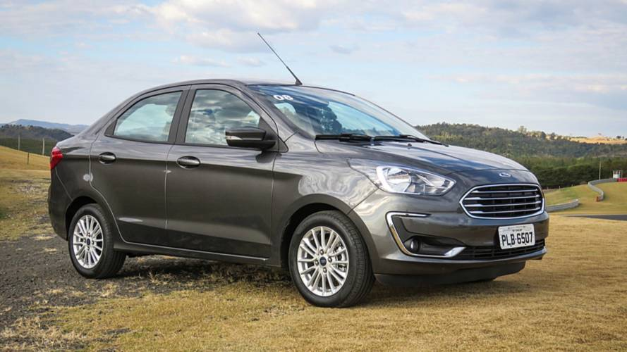 Vendas diretas em abril: Ka Sedan supera o hatch e figura no pódio