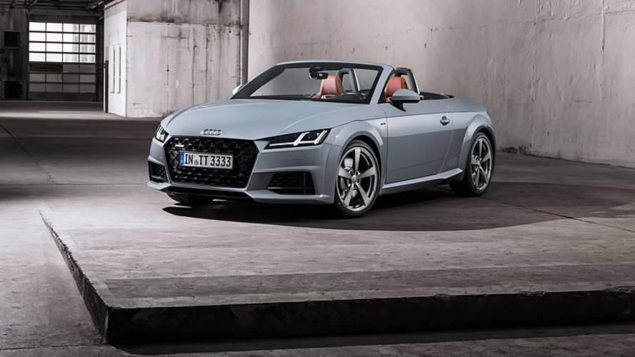 L'Audi TT s'offre un restylage subtil