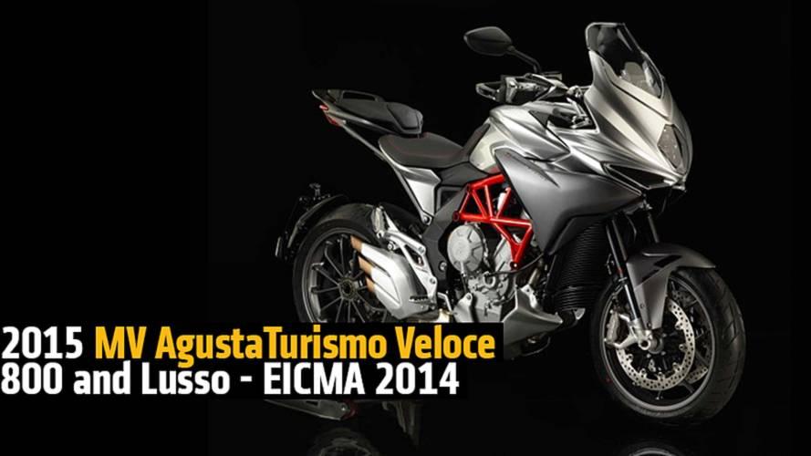 2015 MV Agusta Turismo Veloce 800 and Turismo Veloce Lusso - EICMA 2014