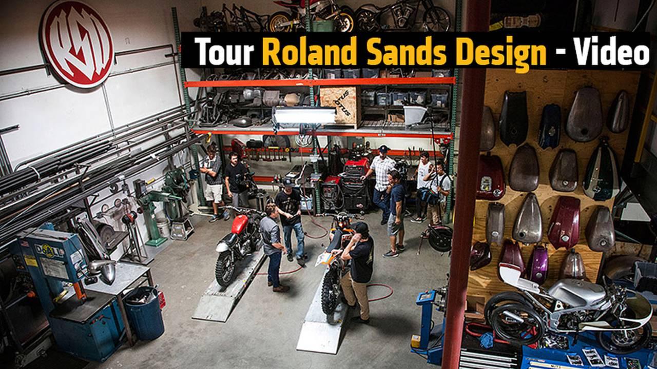 Tour Roland Sands Design - Video