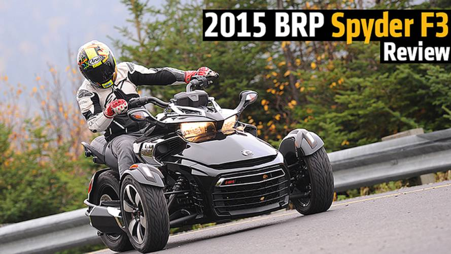 2015 BRP Spyder F3 Review