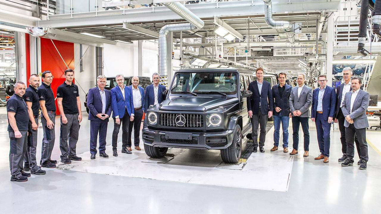 2019 Mercedes-Benz G-Class Production Starts
