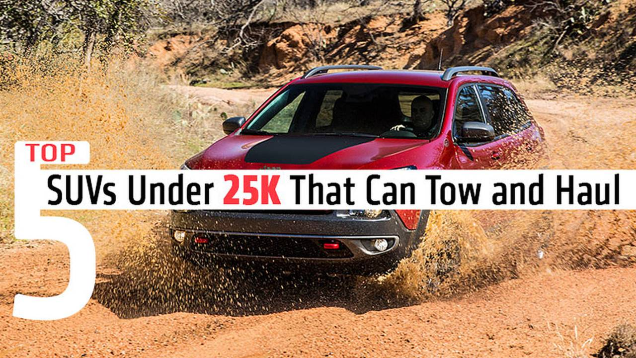 Top Five SUVs Under 25K That Can Tow a Motorcycle and Haul Your Gear
