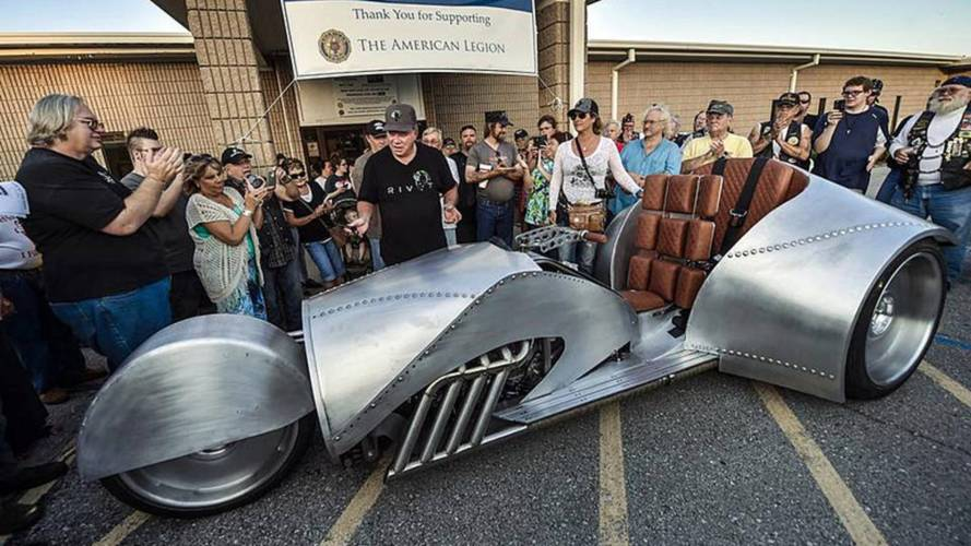William Shatner is Road Tripping his Wild Rivet Trike Down Route 66