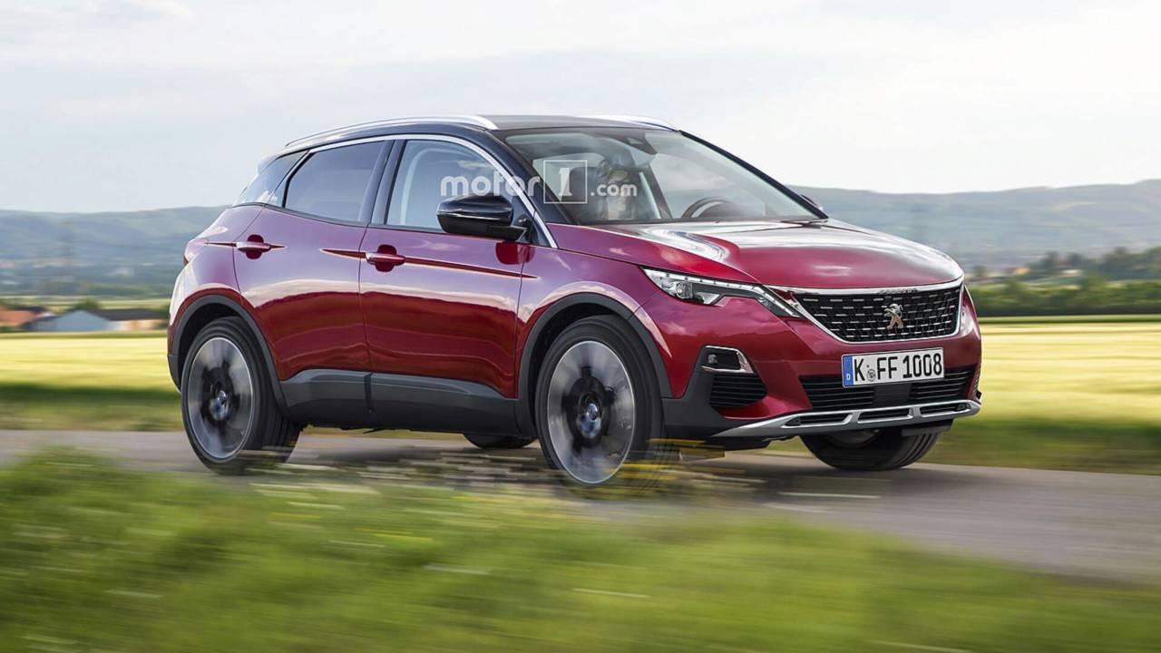 Peugeot 1008 - Projeção