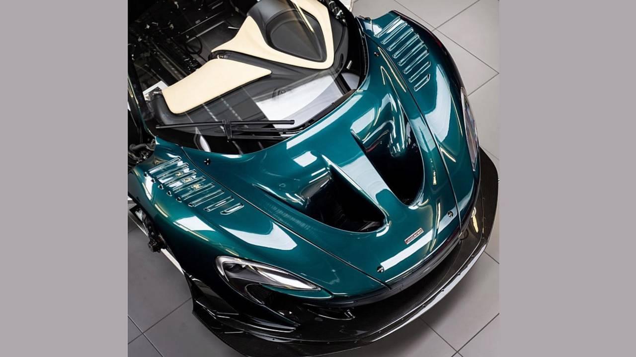 McLaren P1 GT Longtail Lanzante