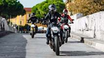 ducati parade celebrates 25 years of monster