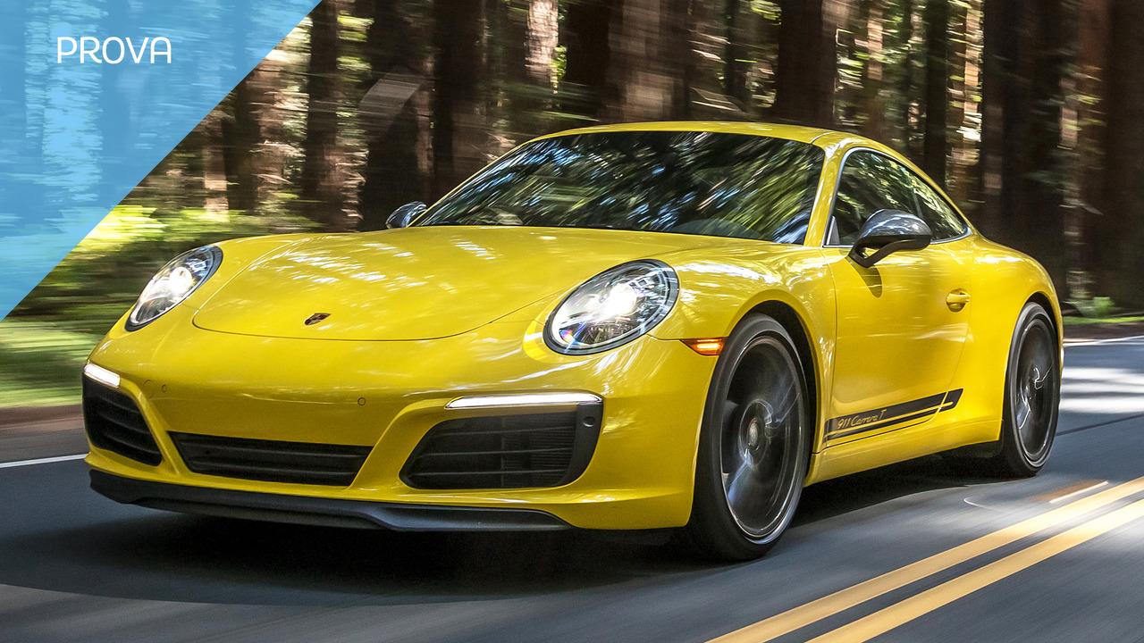 Porsche 911 T, la prova