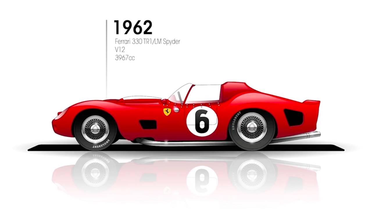 1962: Ferrari 330 TRI/LM Spyder