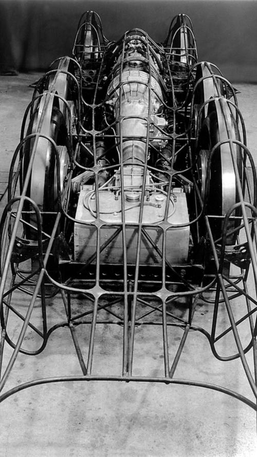 Mercedes T80 Rekor Aracı