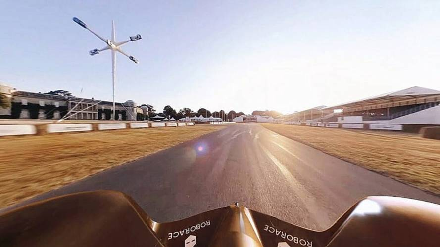 Watch Autonomous Roborace Devbot Conquer Goodwood