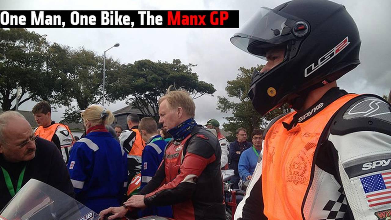 One Man, One Bike: Aaron League's Manx GP Diary