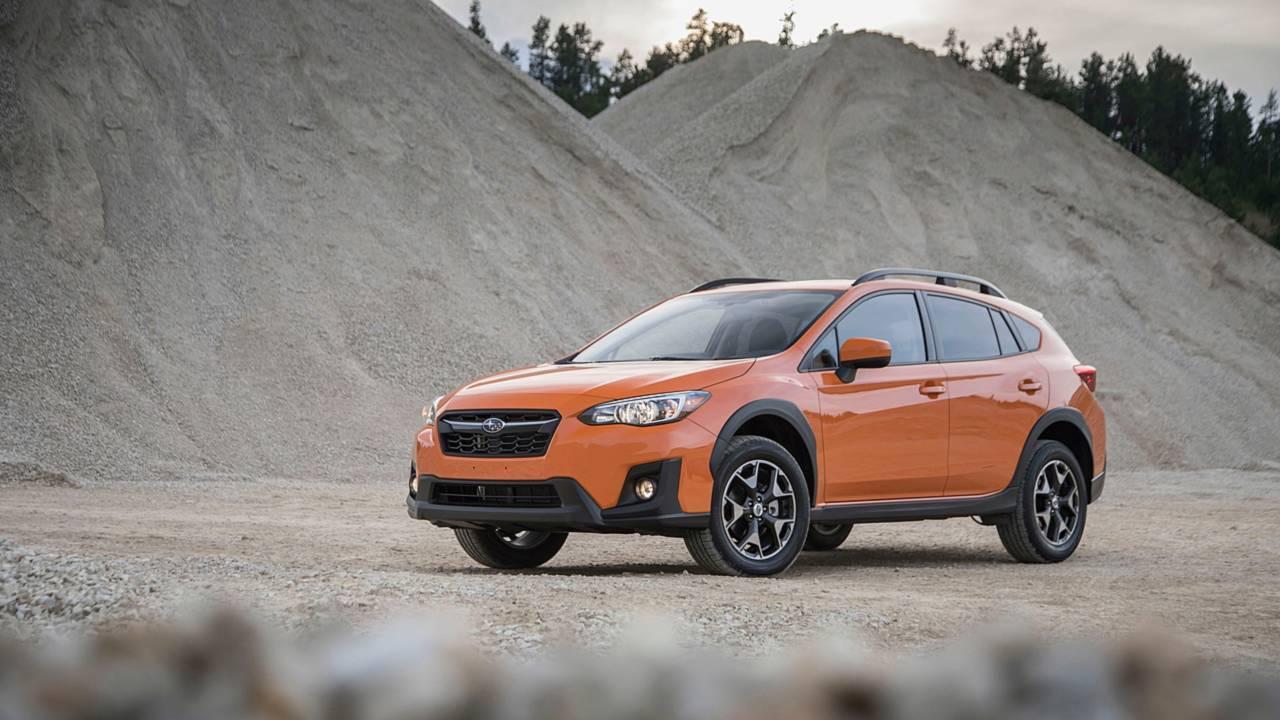 1. Compact SUV/Crossover: Subaru Crosstrek