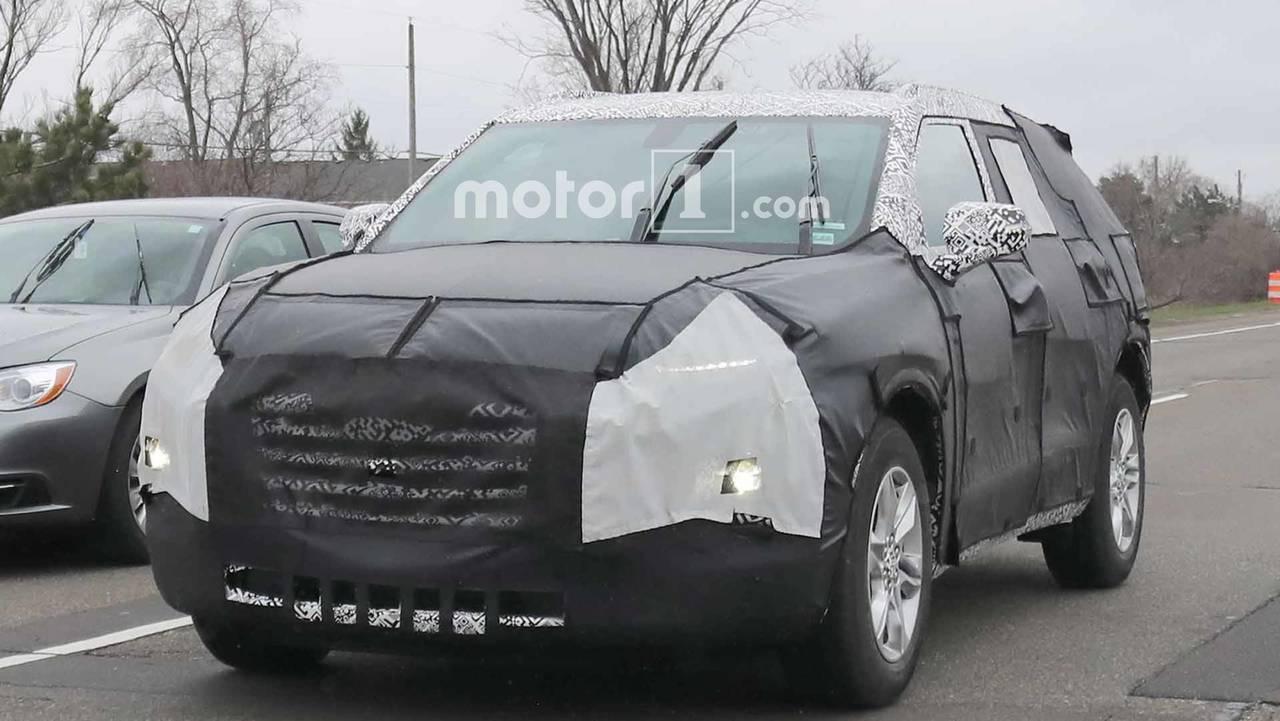 Chevrolet Blazer Spy Photos