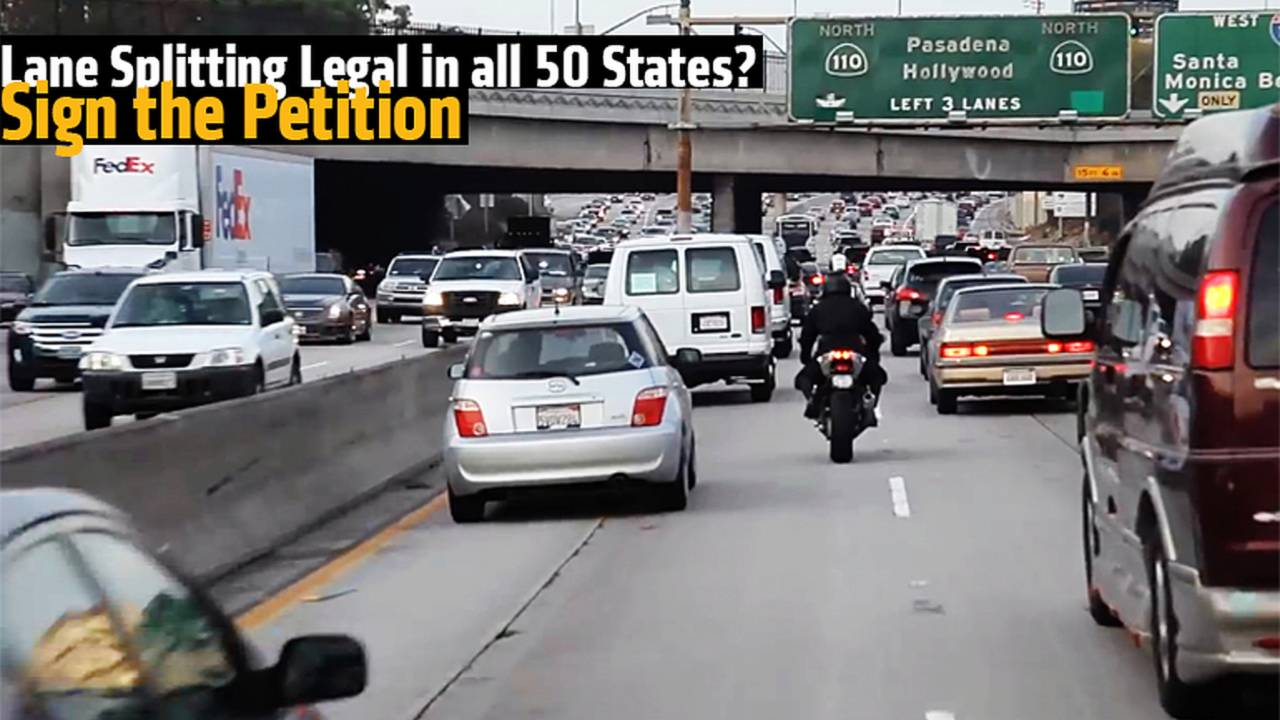 Should Lane Splitting be Legal in all 50 States? Sign the Petition