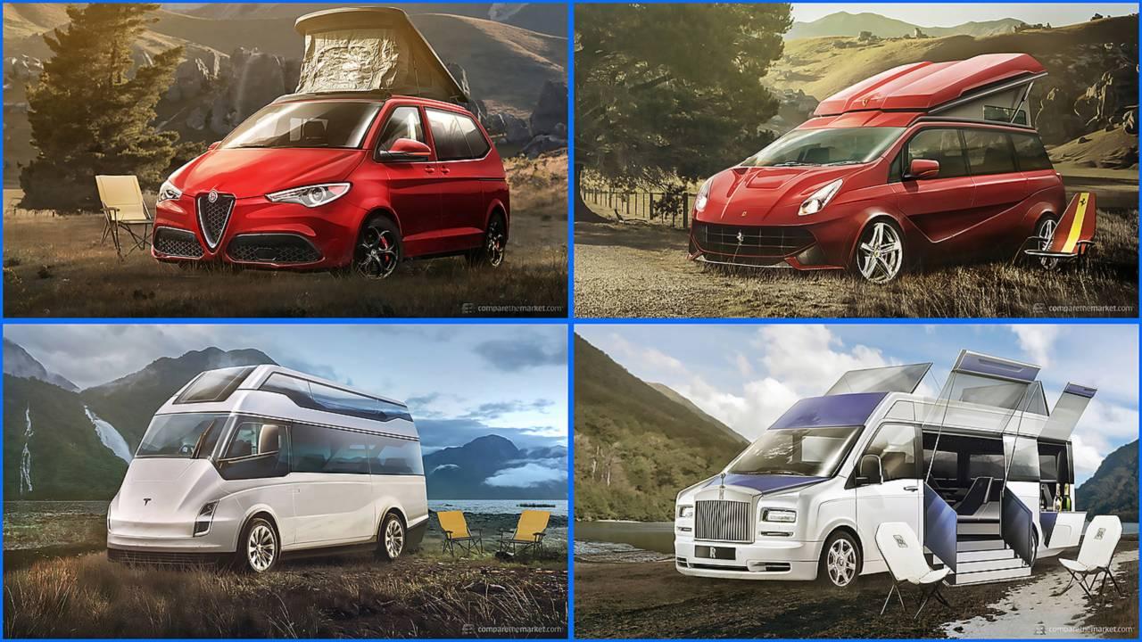 Seven Luxury Camper Vans