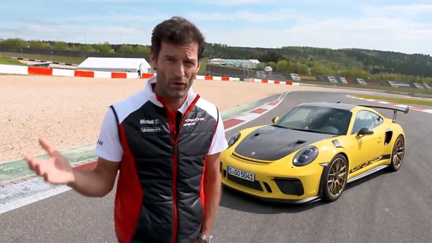 Watch Mark Webber Enjoy The Porsche 911 GT3 RS At The Nürburgring