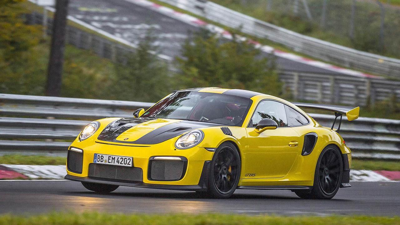 Platz 1: Porsche 911 GT2 RS (6:47.30)