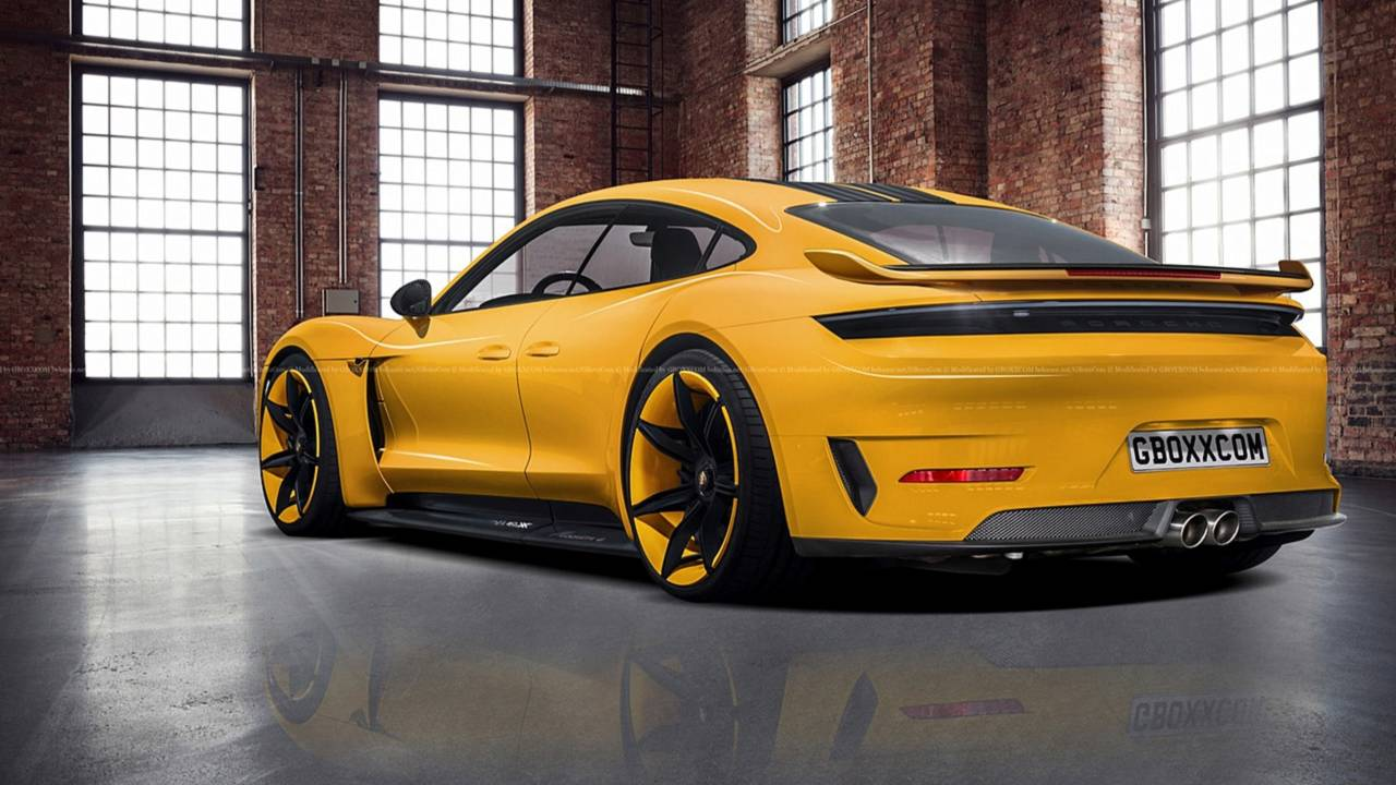 Porsche Taycan Exclusive Rendering