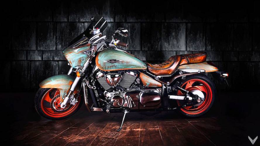 Is This Suzuki Boulevard Custom Art? We Can't Decide