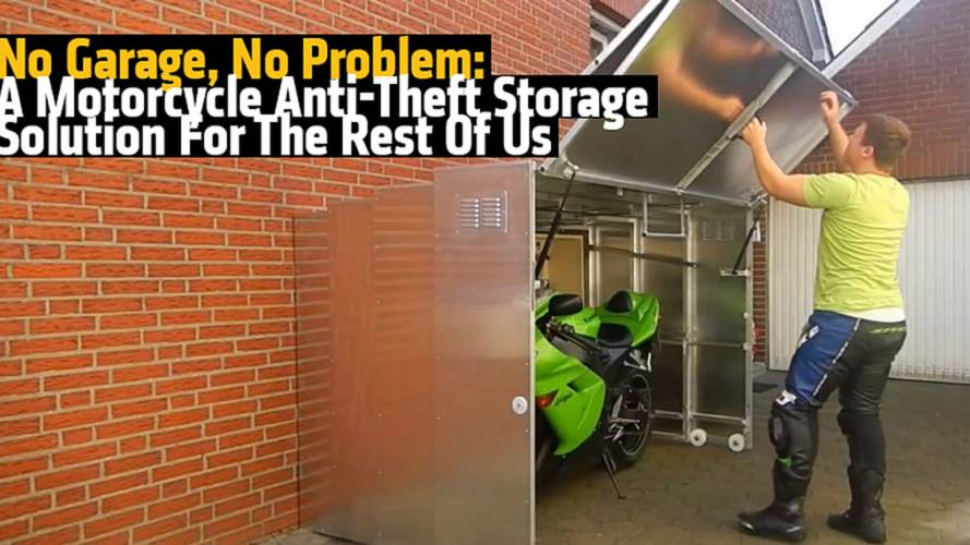 A Motorcycle Anti-Theft Storage Solution For The Rest Of Us
