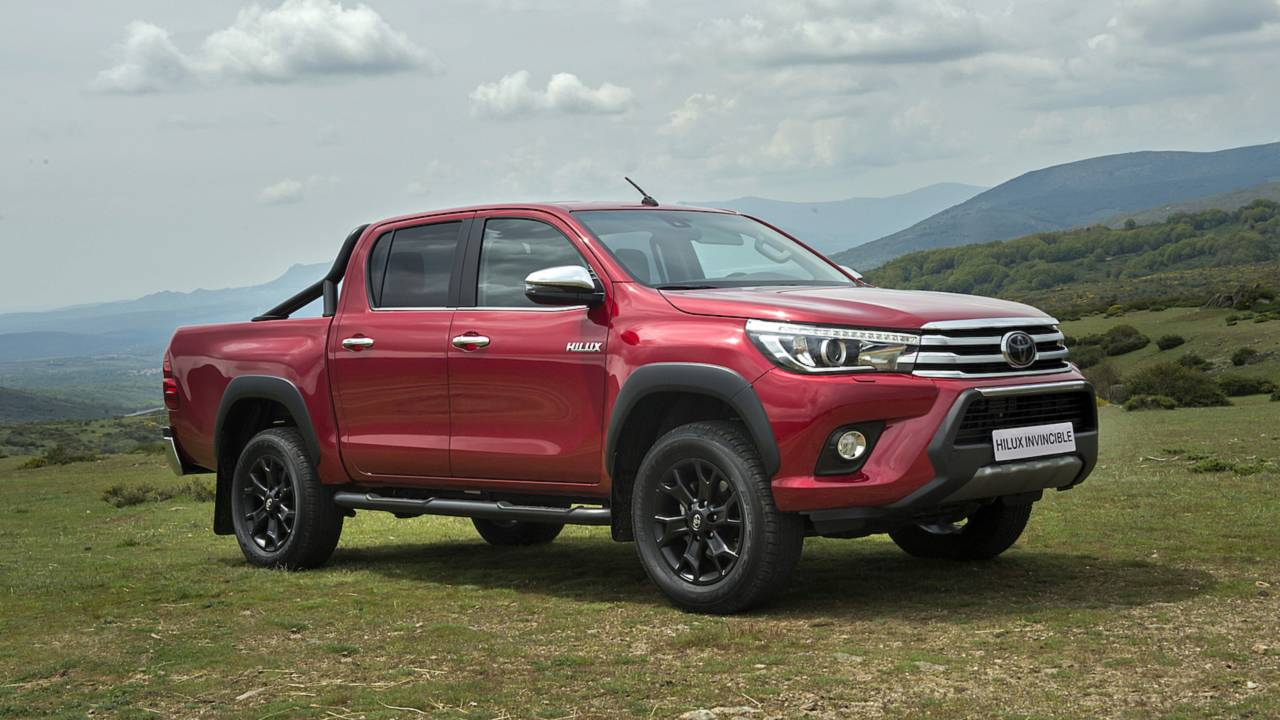 Toyota Hilux Invincible 2018