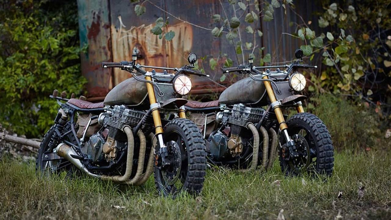 Classified Moto's Walking Dead Custom Motorcycle - New Photos