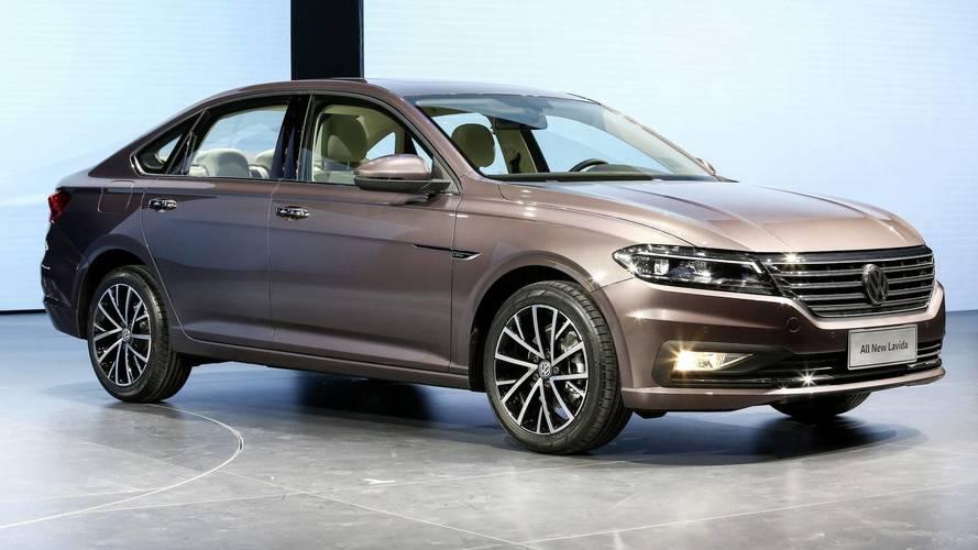 2018 Volkswagen Lavida Pekin'de sergileniyor