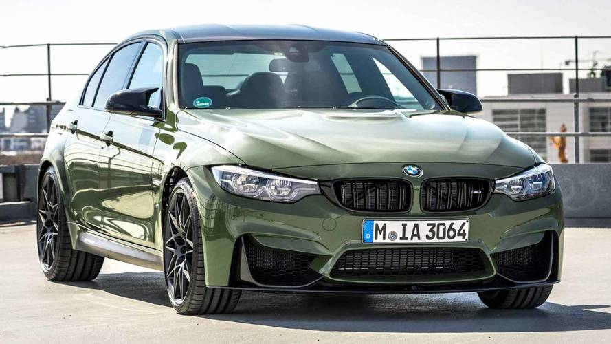 Urban Green M3 By BMW Individual Wears Olive Color That Isn't Drab