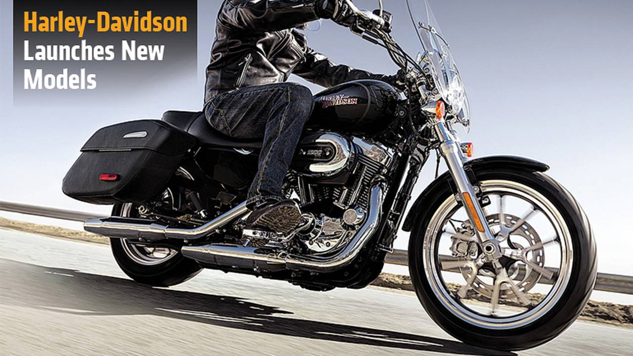 Harley-Davidson Launches New Models