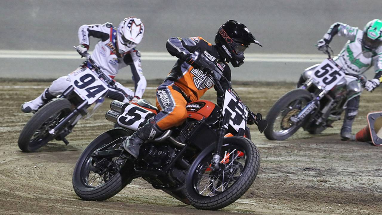New Harley-Davidson XG750R Finishes Fourth at Daytona TT