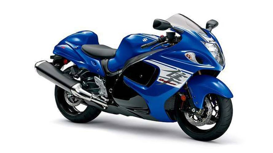 Suzuki Hayabusa Unchanged for 2018, Maybe 2019?