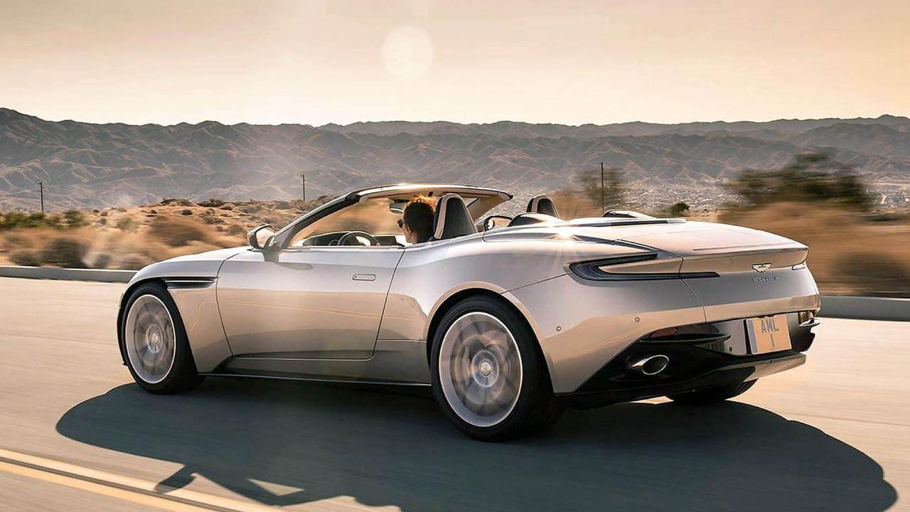 Platz 9 (geteilt): Aston Martin DB11 Volante; 14 Sekunden