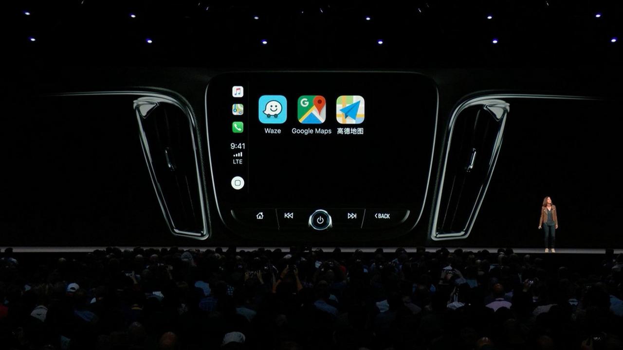 CarPlay, ora con Waze e Google Maps grazie a iOS 12