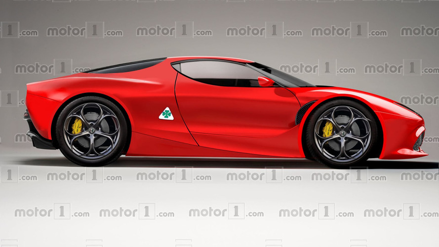 Alfa Romeo 8C could have as much as 800 bhp