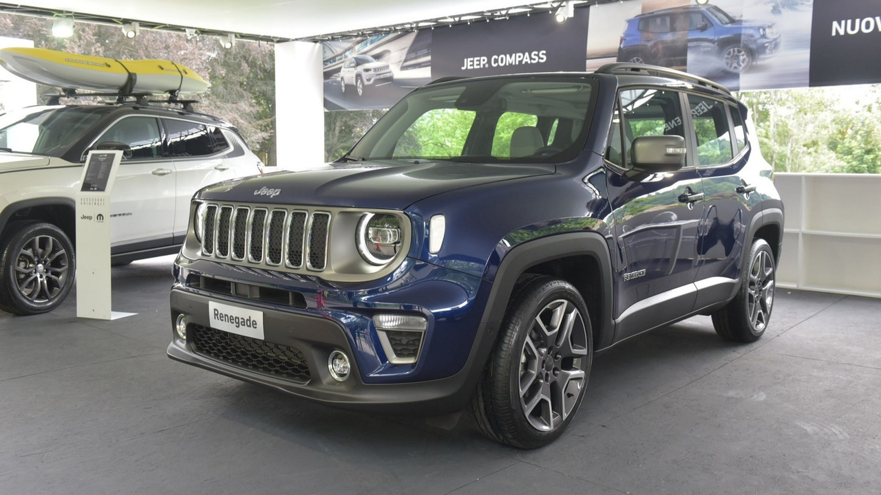 Jeep Renegade MY19 a Parco Valentino 2018