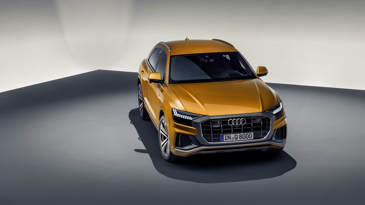 New Audi Q8 SUV