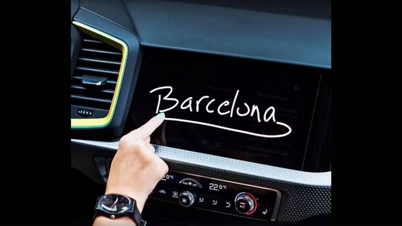 Audi A1 monitor