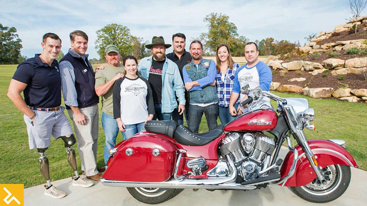 Indian Motorcycle and Zac Brown Honor Veterans