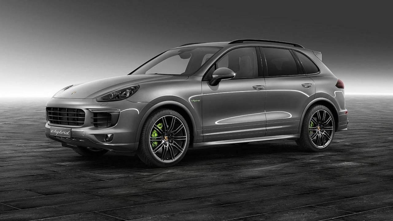 4.- Porsche Cayenne E-Hybrid