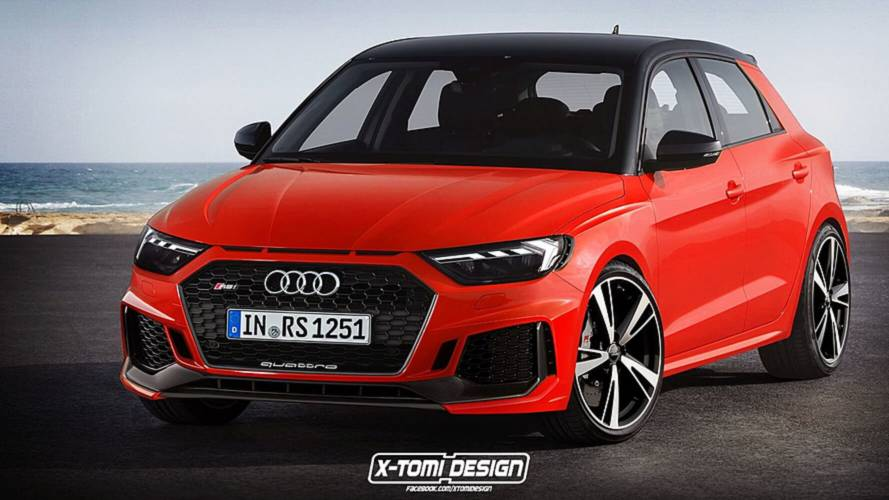 Audi Rules Out Four-Cylinder RS Models, So RS1 Is Not Happening