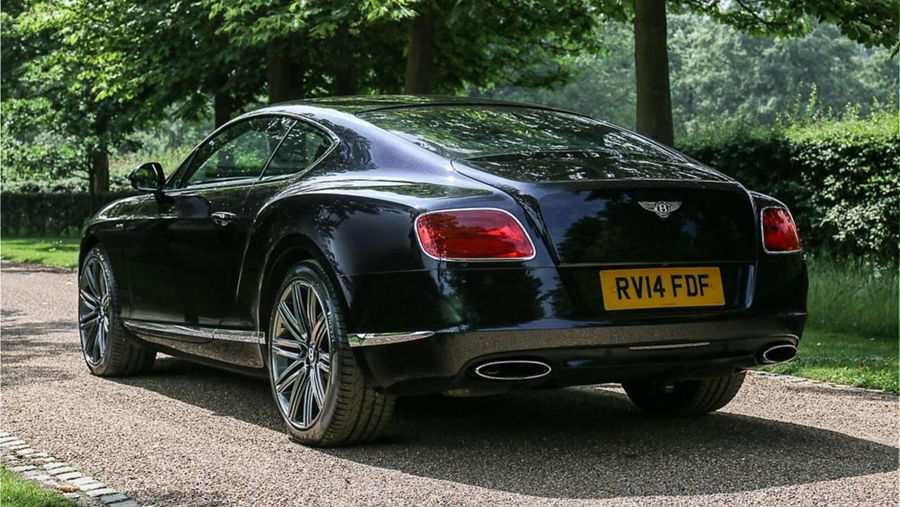 Elton John's Bentley Continental GT Speed