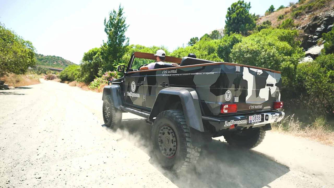 Jon Olsson Topless Mercedes-Benz G500