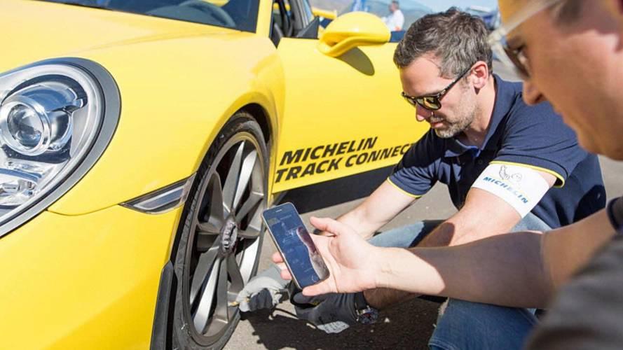 Michelin Track Connect, l'app per gestire le gomme nei track day