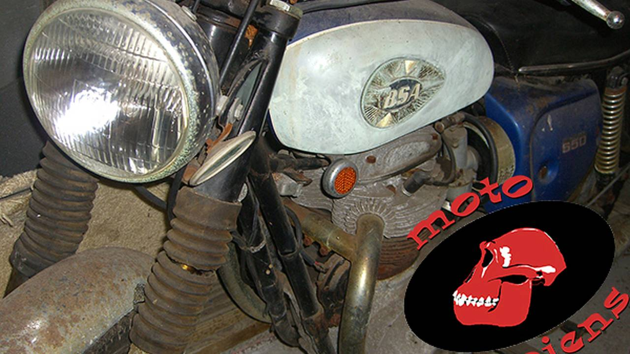 A BSA Barn Find