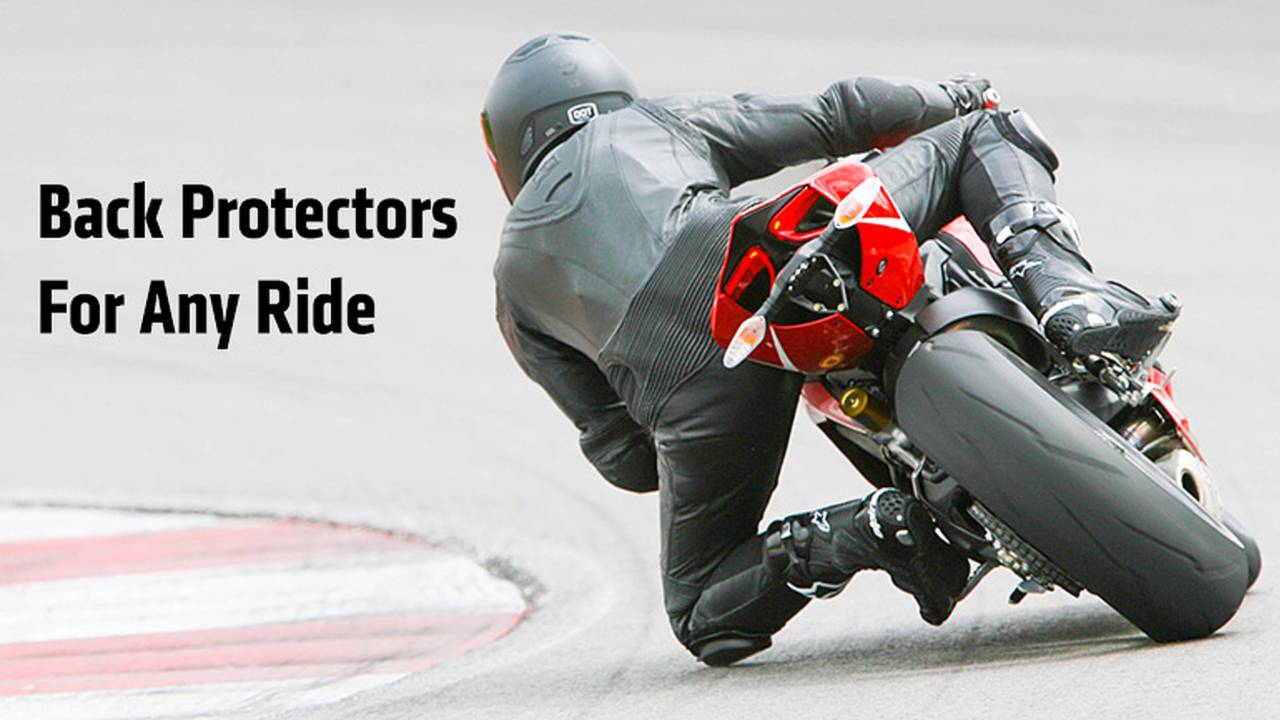 The Best Motorcycle Back Protectors For Any Ride