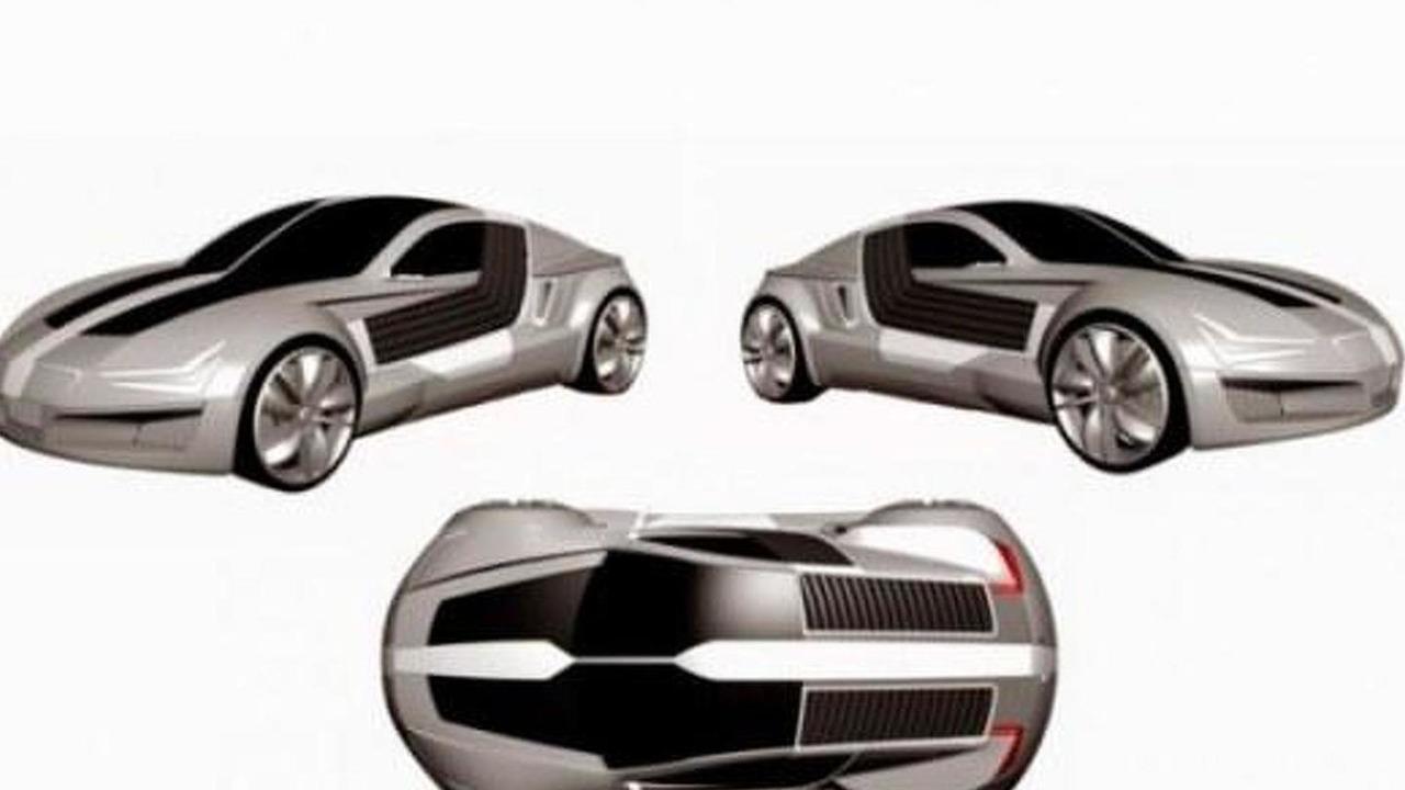 Seat GT concept patent photo