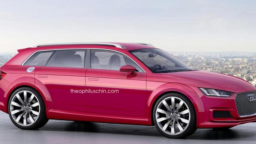 Audi TT Avant concept render should happen