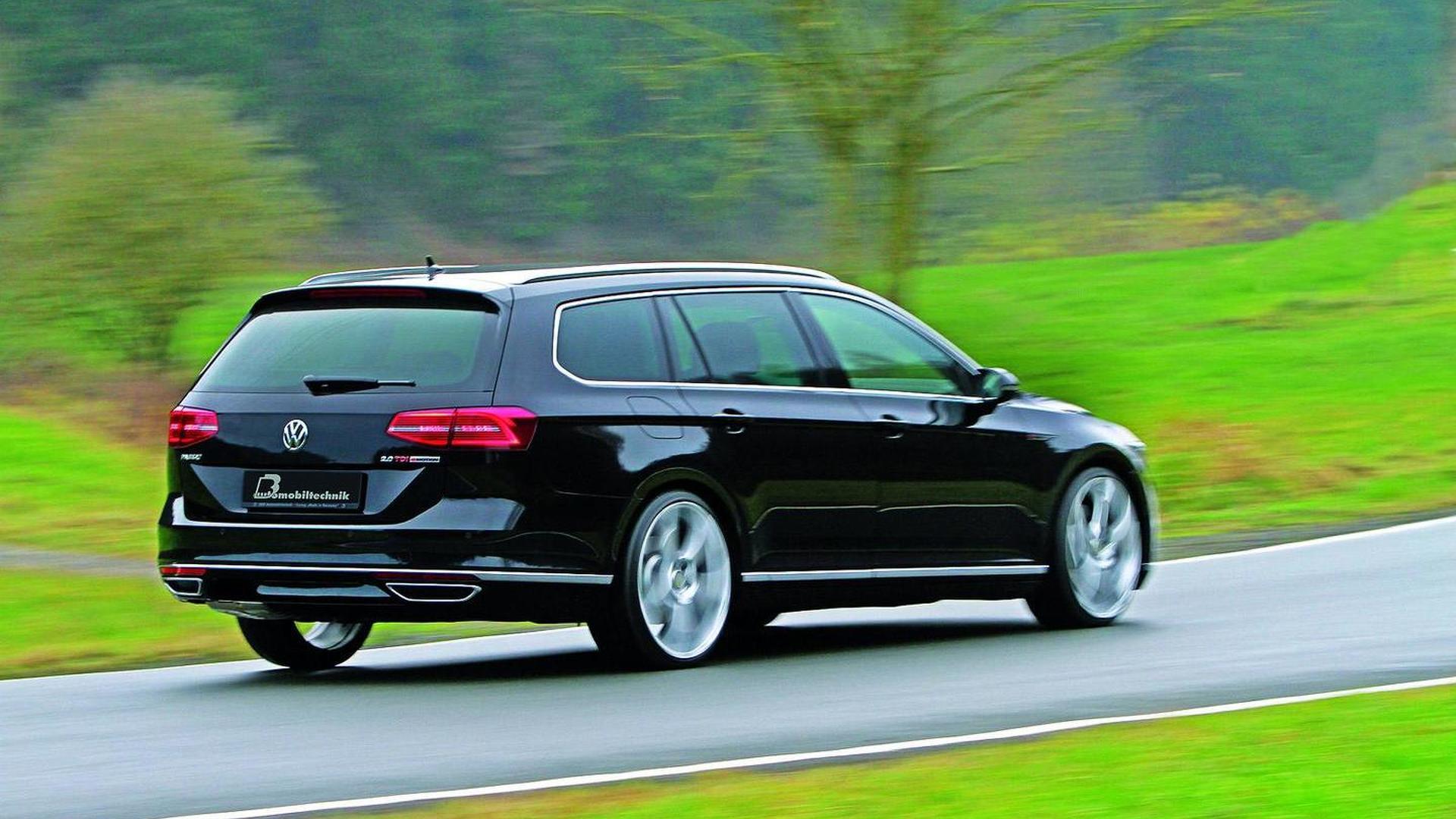 2015 Volkswagen Passat 2 0 Bitdi Tuned To 300 Hp And 630 Nm By B B